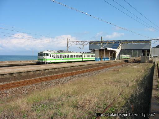 米山駅に発着する115系電車その2
