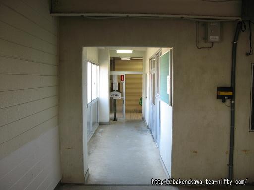 米山駅駅舎内部その2