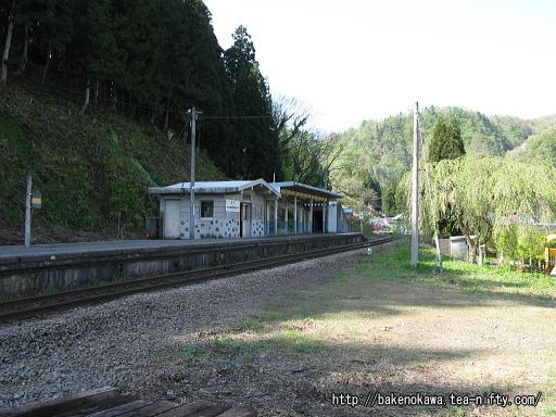旧駅舎跡と思われる場所その1