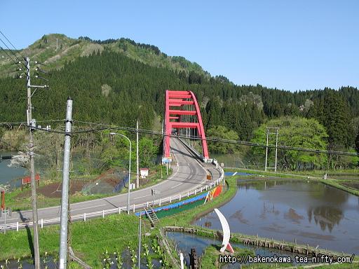 国道459号線の船渡大橋その1