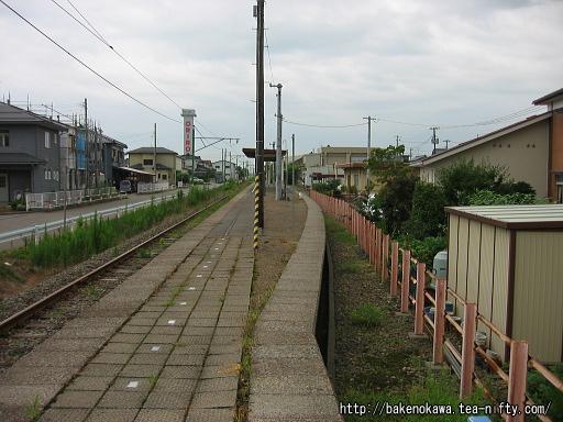 撤去された線路跡その2