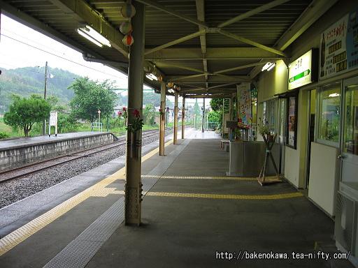 出雲崎駅の1番ホームその3