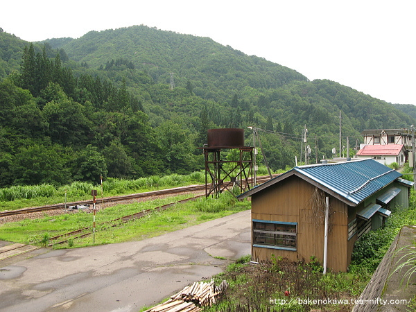 蒸気機関車の給水塔