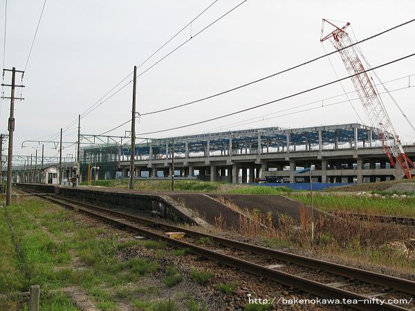 上越妙高駅建設過程その3