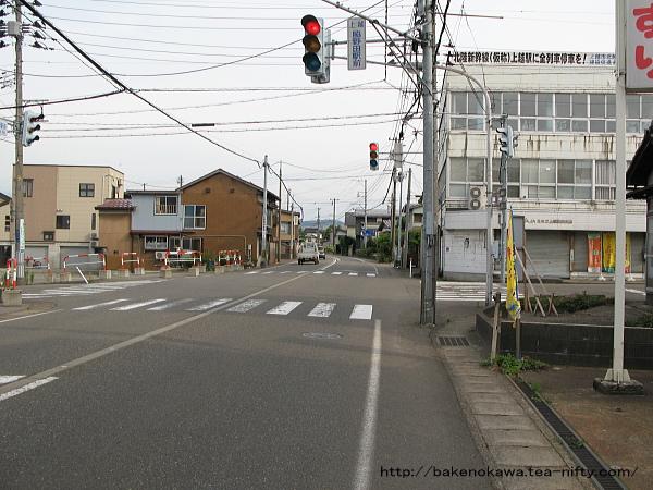 脇野田駅前通りその2