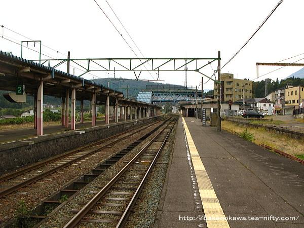 妙高高原駅の1番線その4