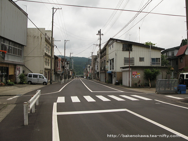 妙高高原駅前通り