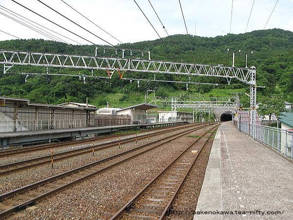 名立駅の上りホームその3
