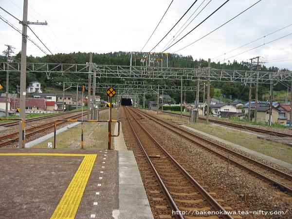 直江津方の頸城トンネル