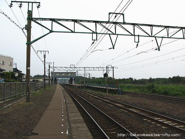 柿崎駅の1番ホームその1