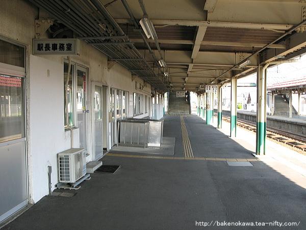 1番ホーム側の駅舎