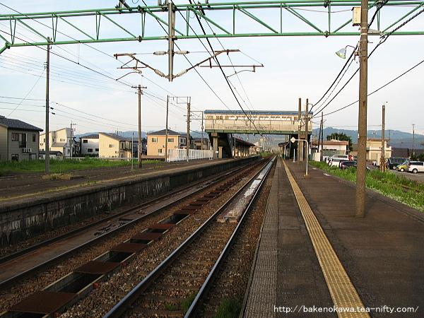 来迎寺駅の1番ホームその2