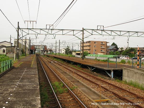 見附駅の1番ホームその1