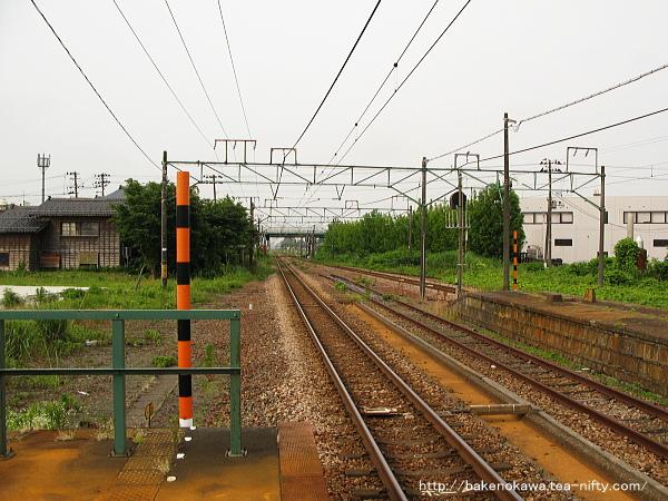 見附駅の1番ホームその4