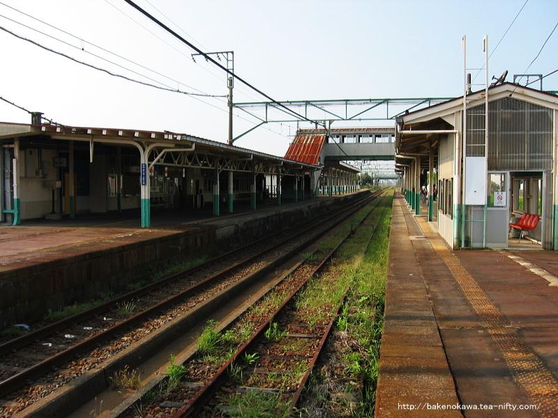 見附駅の旧島式ホームその6