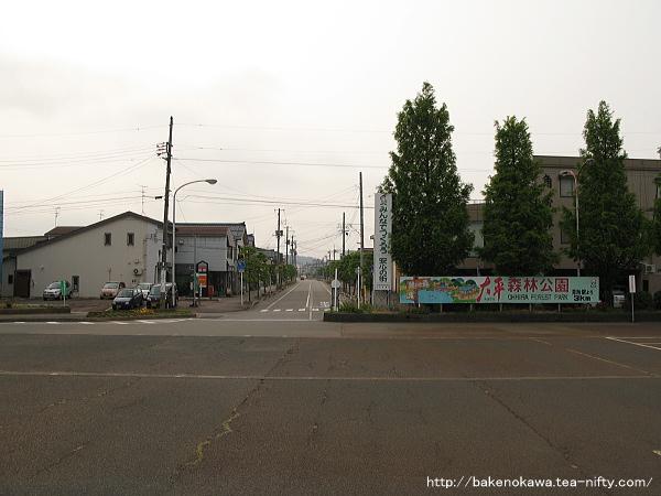 見附駅前通りその1
