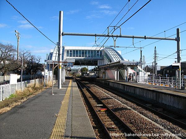 内野駅の2番ホームその3