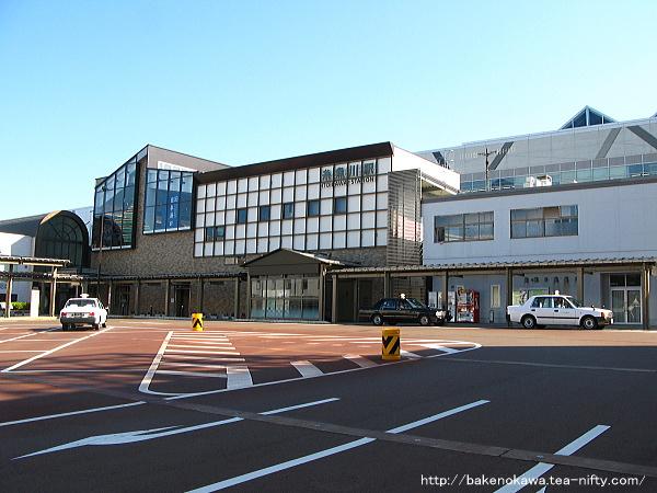 糸魚川駅日本海口