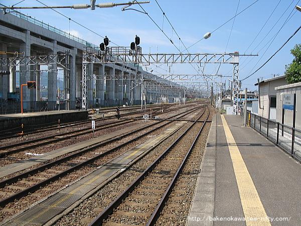 糸魚川駅の1番ホームその4