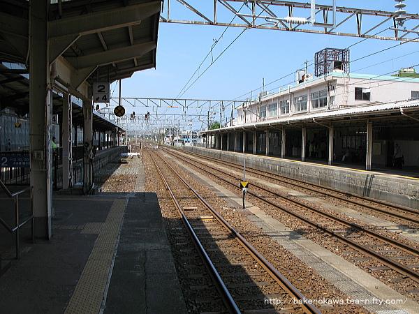 糸魚川駅の島式ホームその6