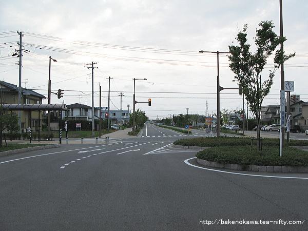 豊栄駅駅北口ロータリー