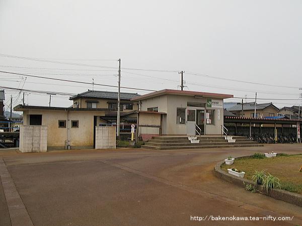 南吉田駅駅舎