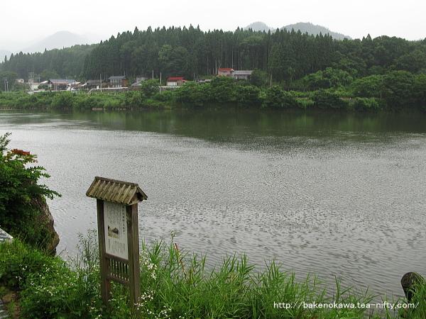 津川河港跡
