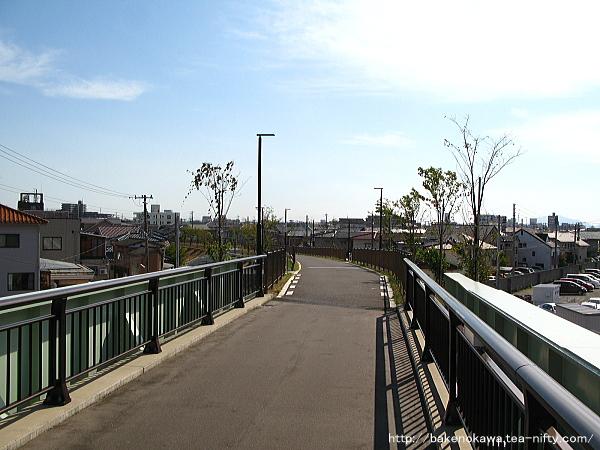 新潟交通電車線東青山駅跡周辺その2
