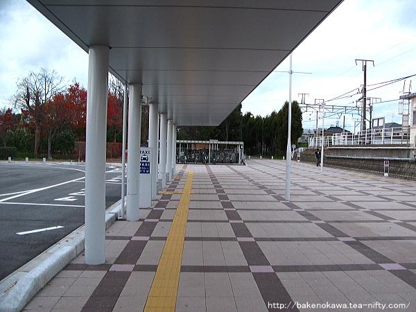 現在の越後石山駅西口その三