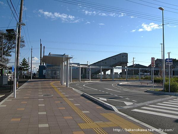 現在の大形駅北口その一