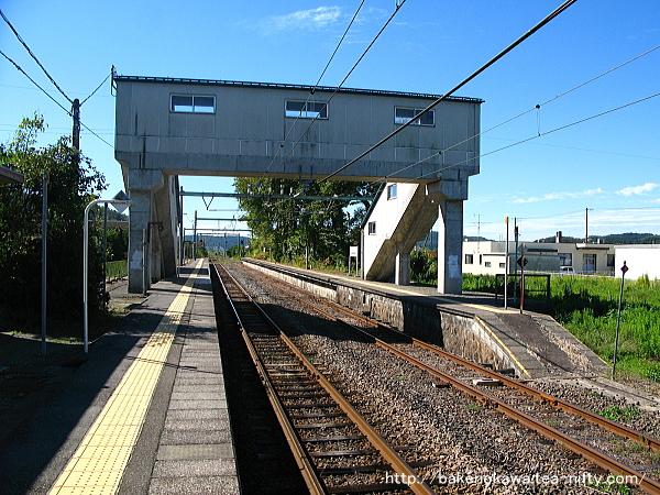 小島谷駅の1番ホームその3