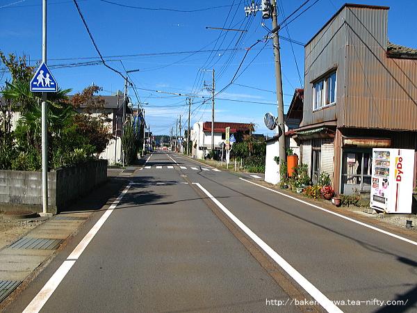 旧和島村のメインストリート
