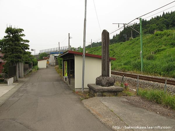 小木ノ城駅前