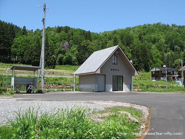 越後田中駅駅舎