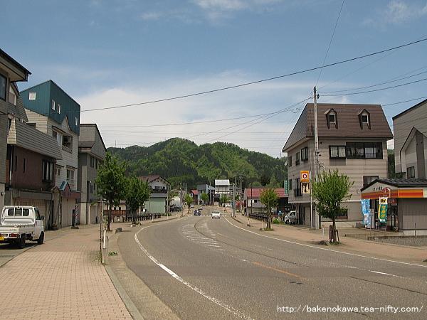 旧大島村の中心街その1