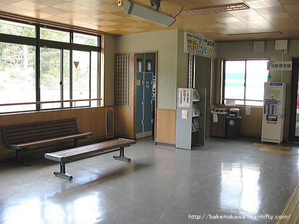 ほくほく大島駅駅舎内部その2