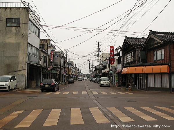 旧分水町中心街その2
