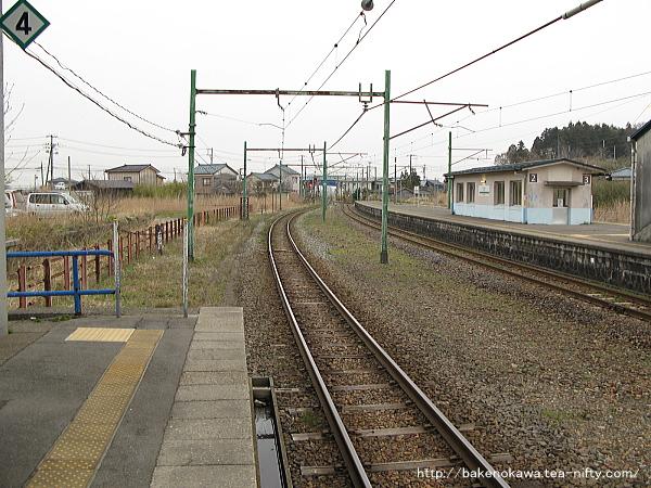 寺泊駅の1番ホームその3