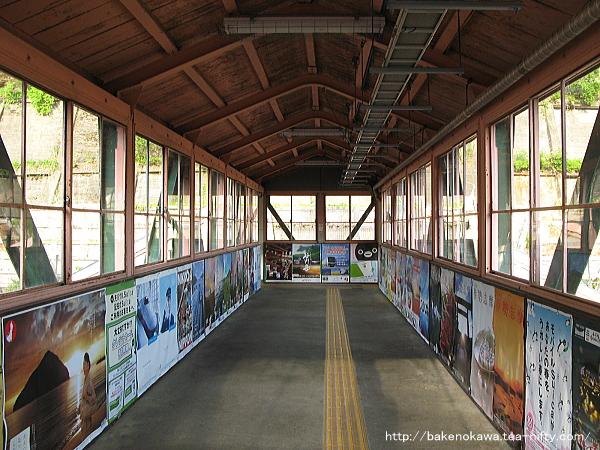水上駅の跨線橋