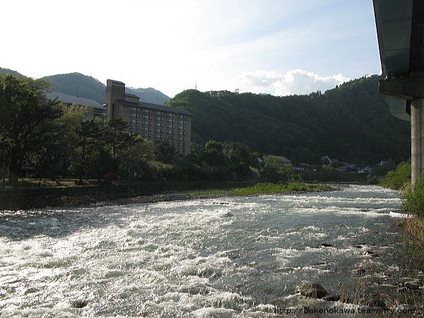 利根川の急流