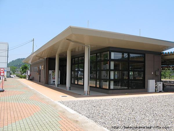 小出駅駅舎その2