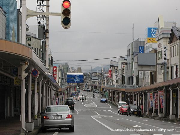 旧小出町の中心街