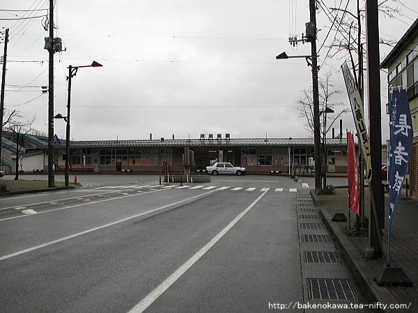 小出駅の旧駅舎