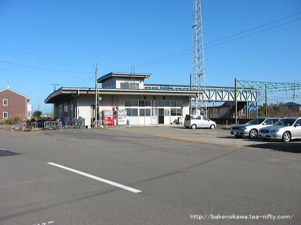 黒井駅の旧駅舎その1
