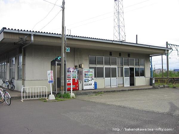 黒井駅の旧駅舎その2