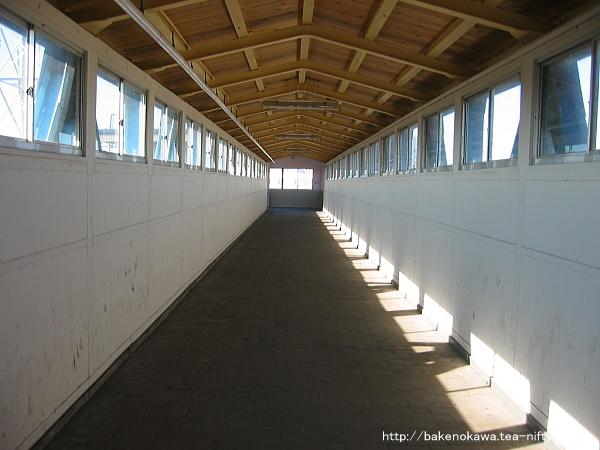 黒井駅の旧跨線橋その1