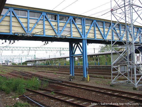 黒井駅の旧跨線橋その2