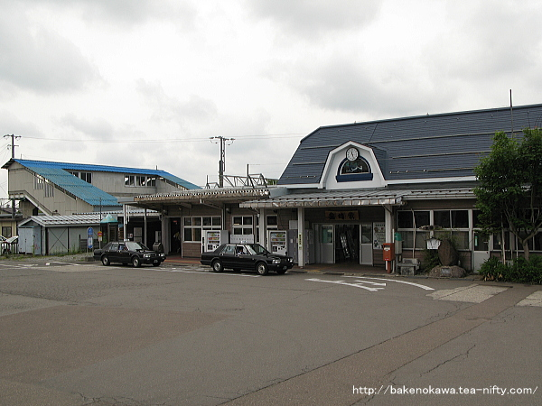 黒姫駅駅舎その1