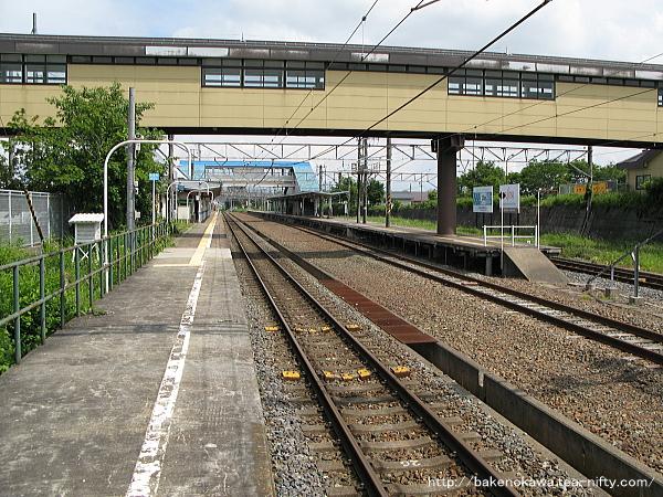 黒姫駅の1番線その1