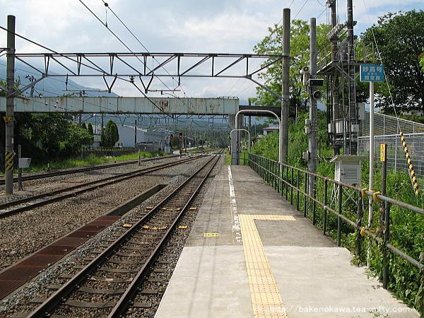 黒姫駅の1番線その2